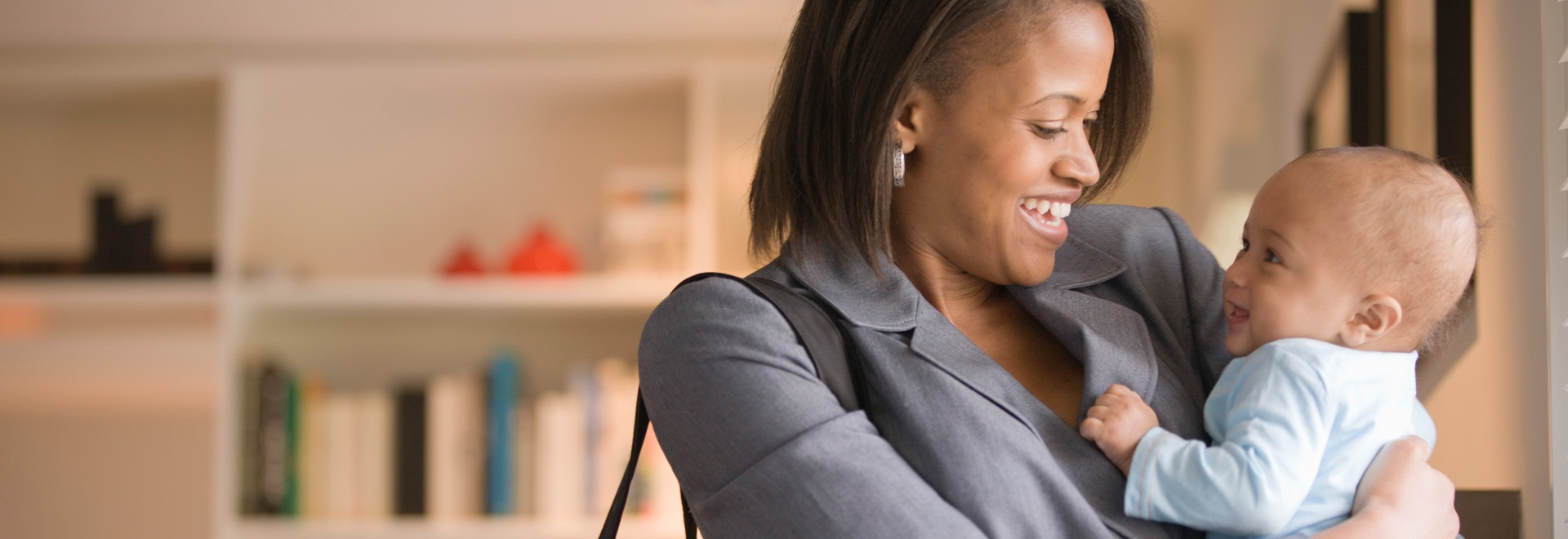 There are many things you can do to help yourself feel good about leaving and returning to work.