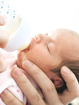 Help your baby learn to take a bottle of breastmilk.